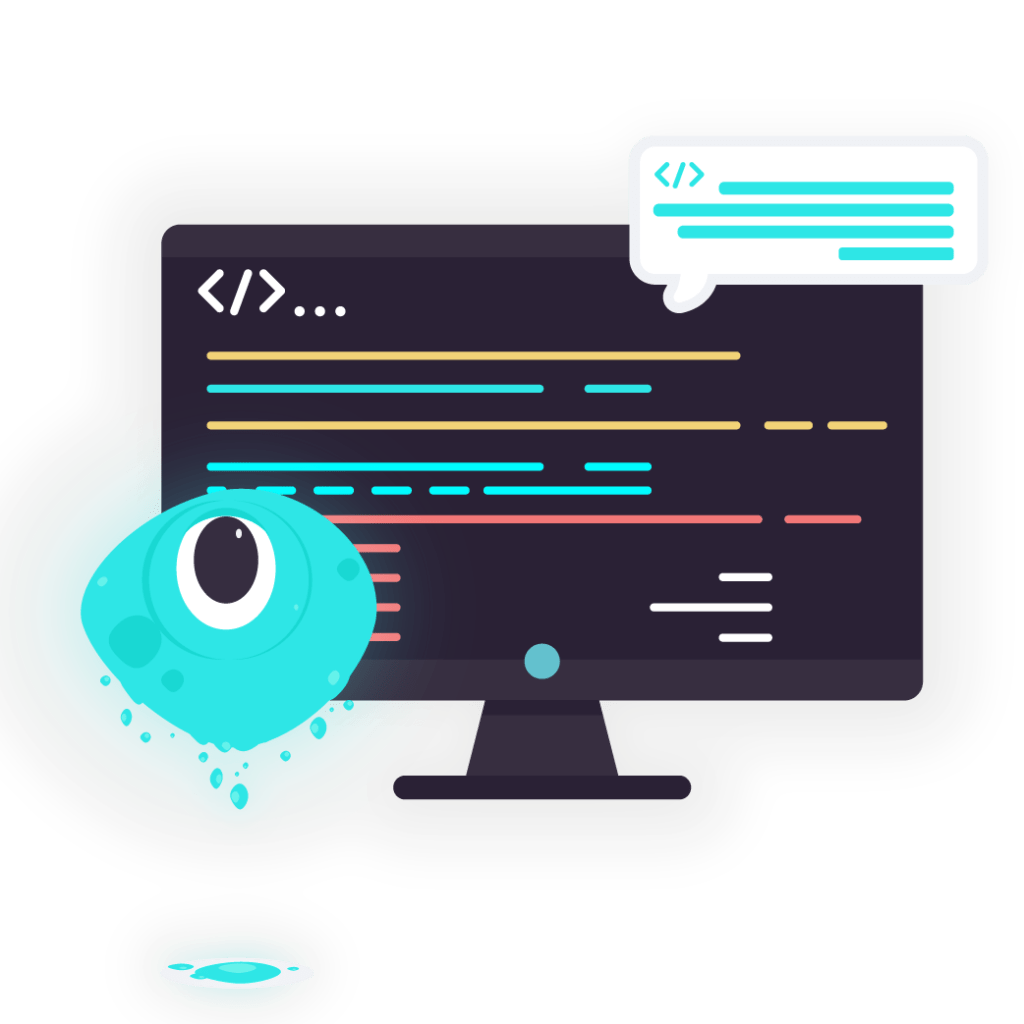 blob with CSS and source code on website
