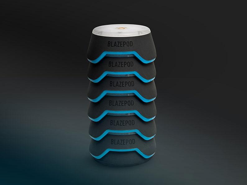 stack of blazepods
