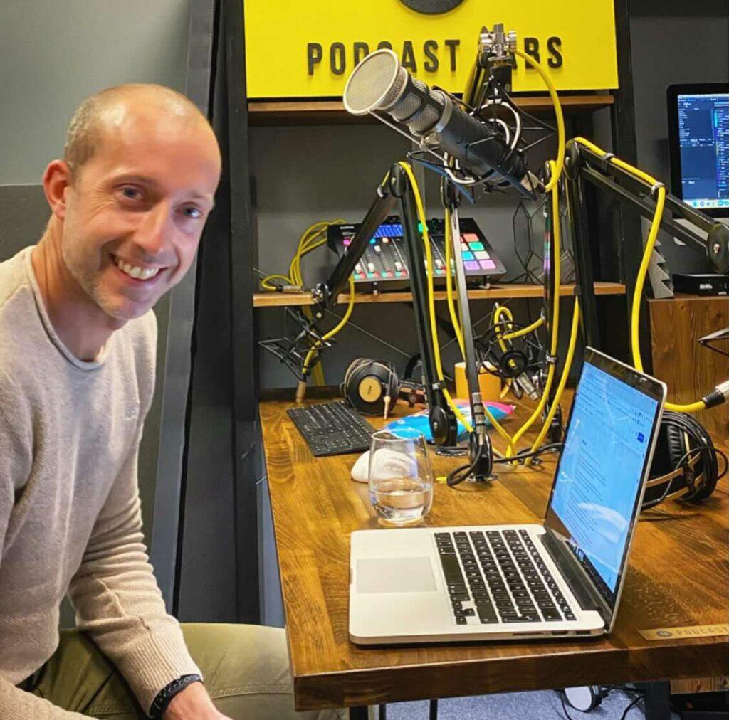 Chris Sharman Topodium Group Making The Podium Podcast Reording