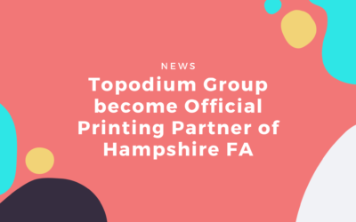 Topodium Group Become Hampshire FA's Official Printing Partner