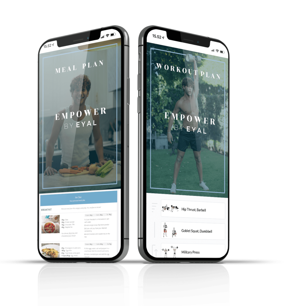 Empower by Eyal Fitness and Wellbeing App