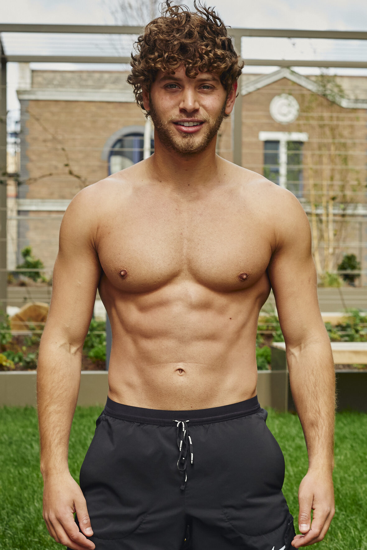 Eyal Booker topless